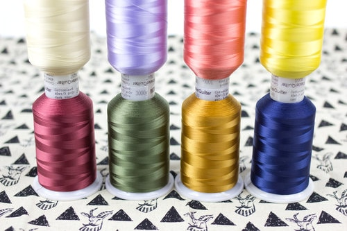 FIND YOUR PERFECT MATCH With 72 colours to choose from, you'll always have the perfect match for any quilt or project. Our Bread & Butter Quilting Thread